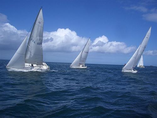 Les First Class 8 de St-Quay - Segelschief Skippertraining